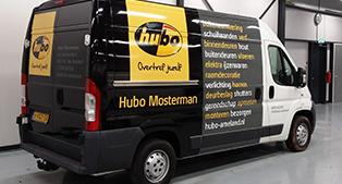 autobelettering bestelwagen