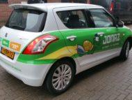 Autobelettering Suzuki Swift Rotterdam