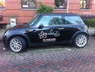 autobelettering mini cooper Amsterdam