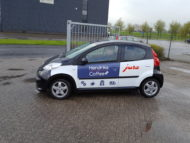 Autobelettering Peugeot 107 Arnhem