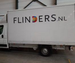 Autobelettering Bakwagen, Zaandam