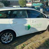 Autobelettering Toyota Auris, Utrecht